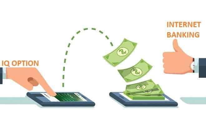 چگونه می توان از IQ Option به حساب بانکی آنلاین پول برداشت کرد